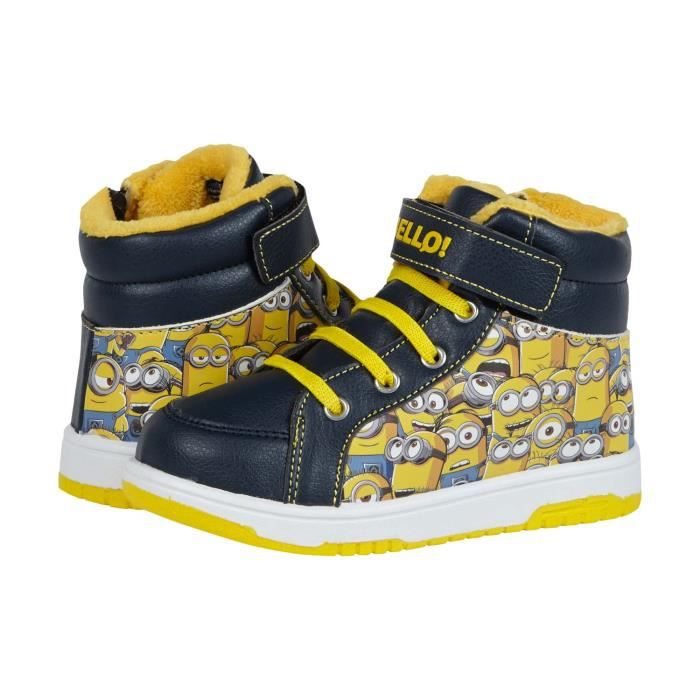 Minions Sneaker high - with Fake Fur