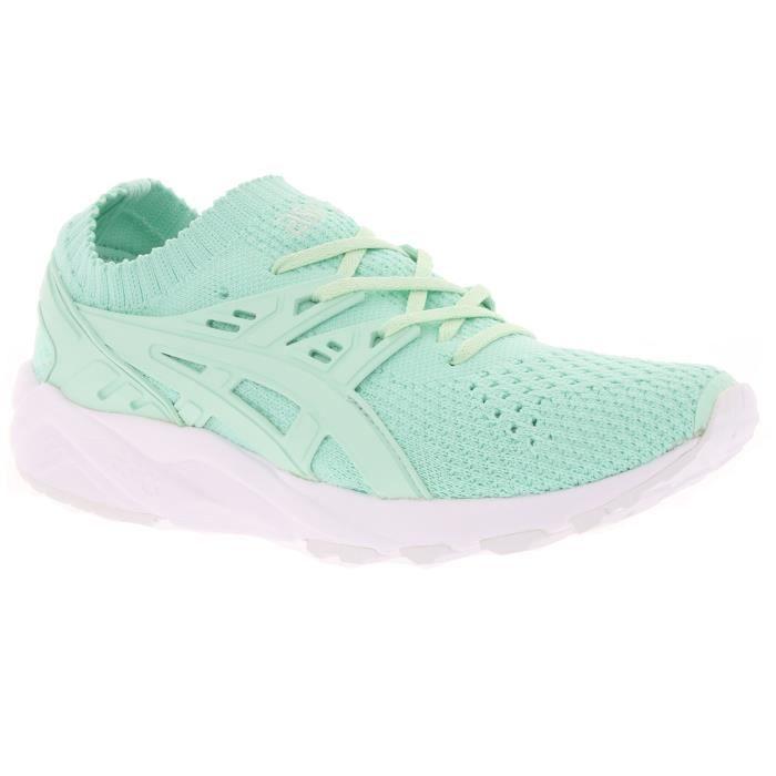 Asics Gel Kayano Trainer Knit Femmes Sneaker vert H7N6N 8787 Vert ...