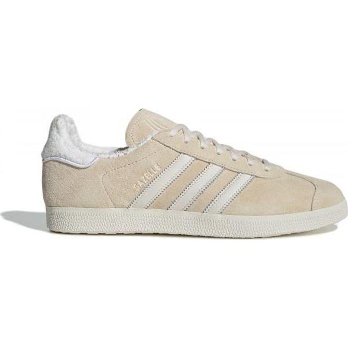 adidas originals gazelle basket basses beige