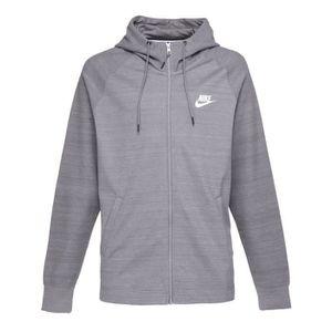 SWEATSHIRT NIKE Sweatshirt AV15 Fz Knit - Homme - Gris