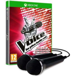 JEU XBOX ONE The Voice + 2 micros Jeu Xbox One