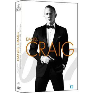 DVD FILM DVD Coffret James Bond 007 - Daniel Craig : La Tri