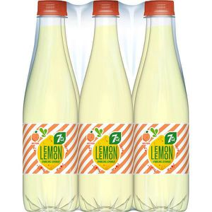 Soda - Thé glacé 7Up Lemon Lemon White Peach pêche blanche Lemonade