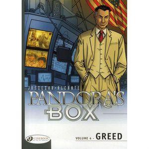 AUTRES LIVRES PANDORA'S BOX T.4 ; GREED