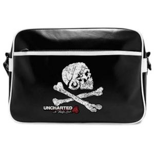 BESACE - SAC REPORTER Uncharted - Sac Besace - Skull - Vinyle