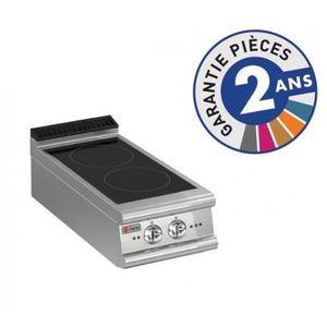 PLAQUE INDUCTION Réchaud Induction - 2 zones - Gamme 900 - Baron