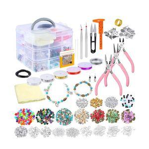Bo/îte /à bijoux Bracelets et m/ême montres Coffrets de bijoux Femmes Bo/îte de rangement bijoux pour Bagues Colliers