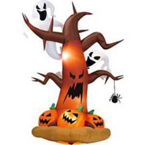 AIRE DE JEUX GONFLABLE Arbre mort 2.4m Halloween Gonflable Déco Fantôme s