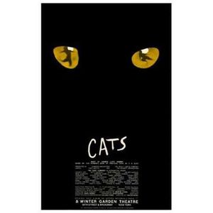 Cats Broadway Style A Impression D Affiche 27 94 X 43