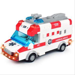 PORTEUR - POUSSEUR Voiture de jouet télécommandée Ambulance de l'équi