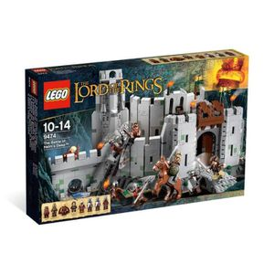 ASSEMBLAGE CONSTRUCTION Lego The Lord of The Ring Bataille Gouffre Helm