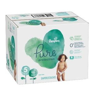 COUCHE 221 Couches Pampers Pure Protection taille 5