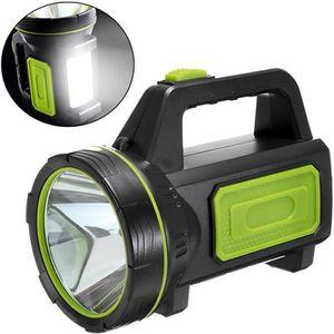 LAMPE DE POCHE TEMPSA Lampe Torche Rechargeable - 10W Lampe de Po