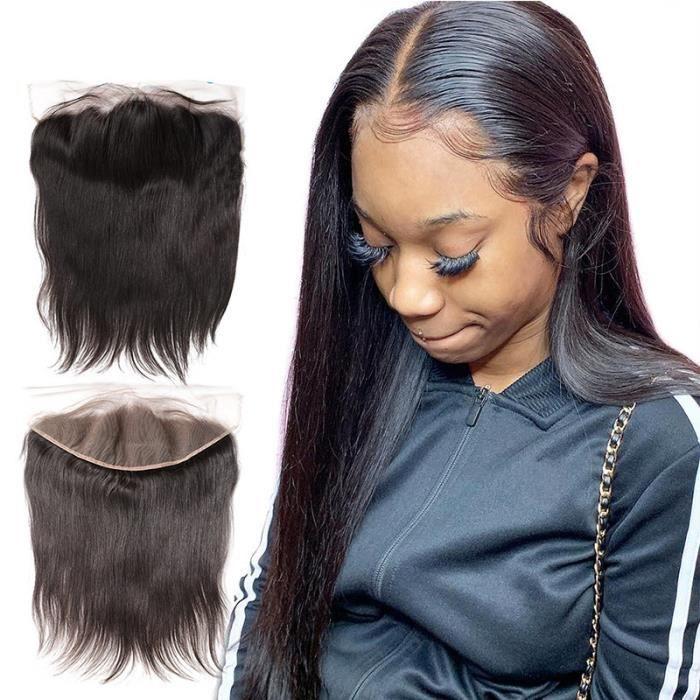 14pouce 13x4 Cheveux Humain Lace Frontale Partie libre Cheveux Humain Lace Frontale
