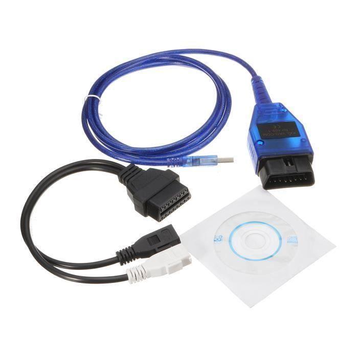 CS Kkl Obd2 USB Ft232 Câble Adaptateur à Puce pour Volkswagen Audi Seat Skoda Vcds - CSAVC824A4590