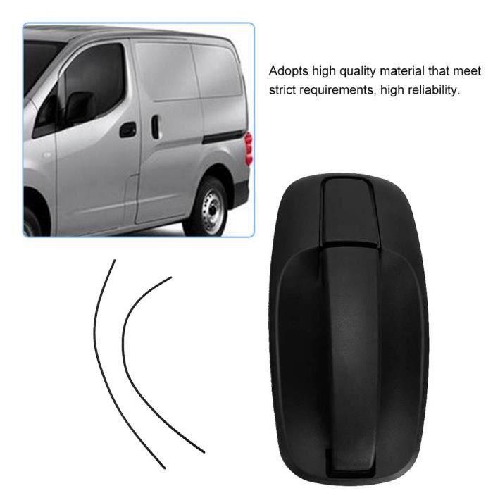 Poignée de porte arrière Poignée de porte intérieure arrière noire gauche droite universelle pour Renault Trafic YAN
