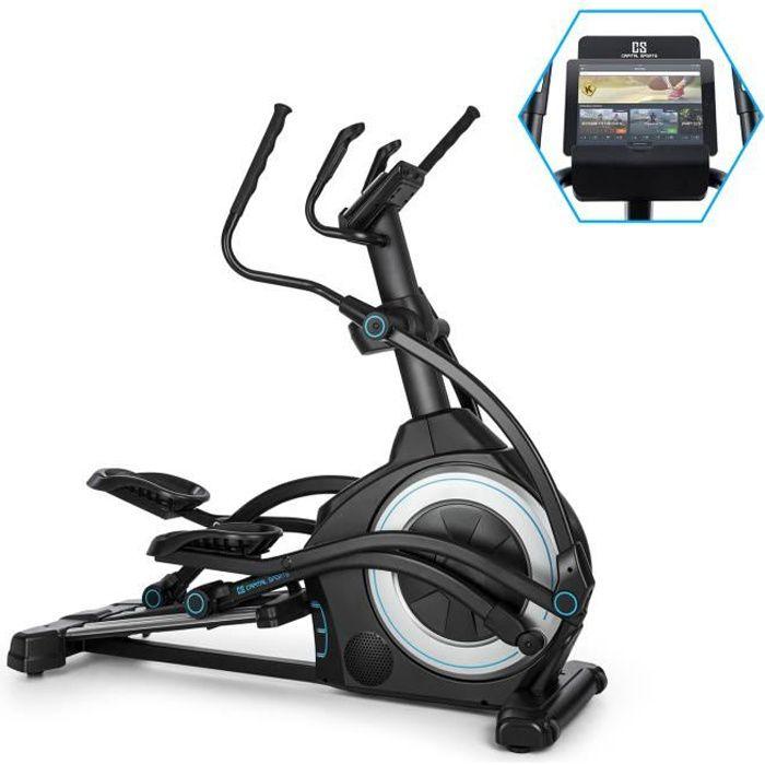 Helix Star UP Vélo elliptique 12 programmes d'entraînement cardio - Interface Bluetooth - Application KinoMap