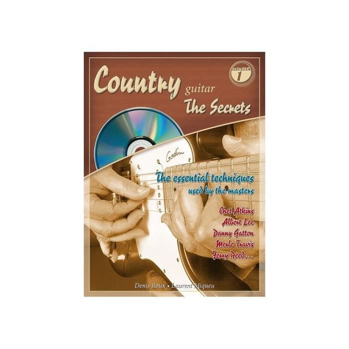 Country Guitar The Secrets - Denis Roux (+ CD)