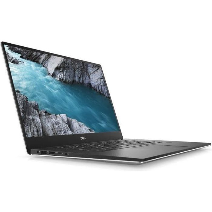 Ordinateur Ultrabook DELL XPS 9000 15 pouces FHD - Core i7-8750H - RAM de 16Go - Stockage 512Go SSD - GTX1050Ti 4Go - Windows 10ORDINATEUR PORTABLE