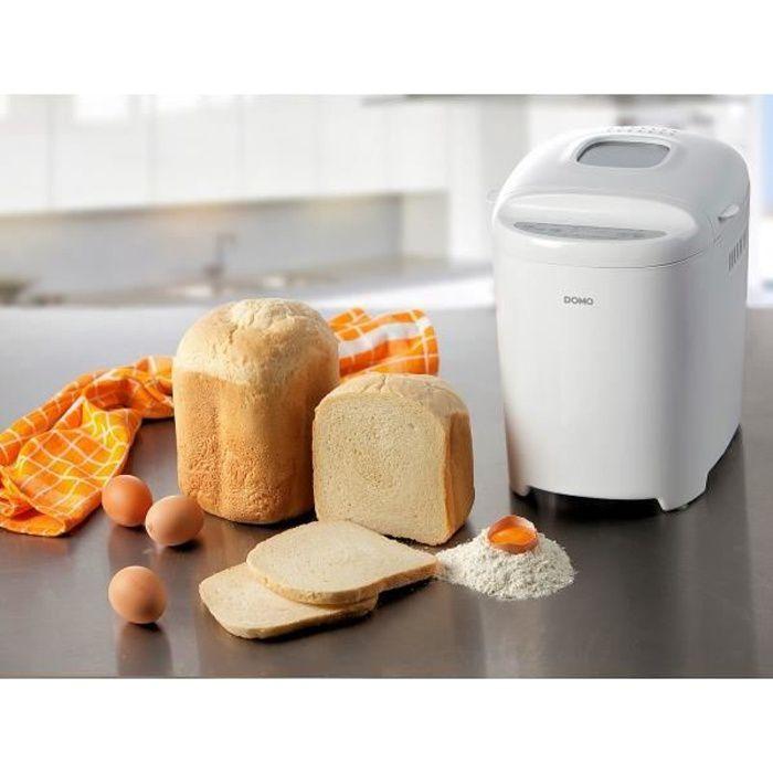 DOMO B3961 Machine à pain - Blanc