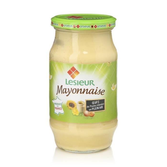 Mayonnaise classique pot 475g Lesieur