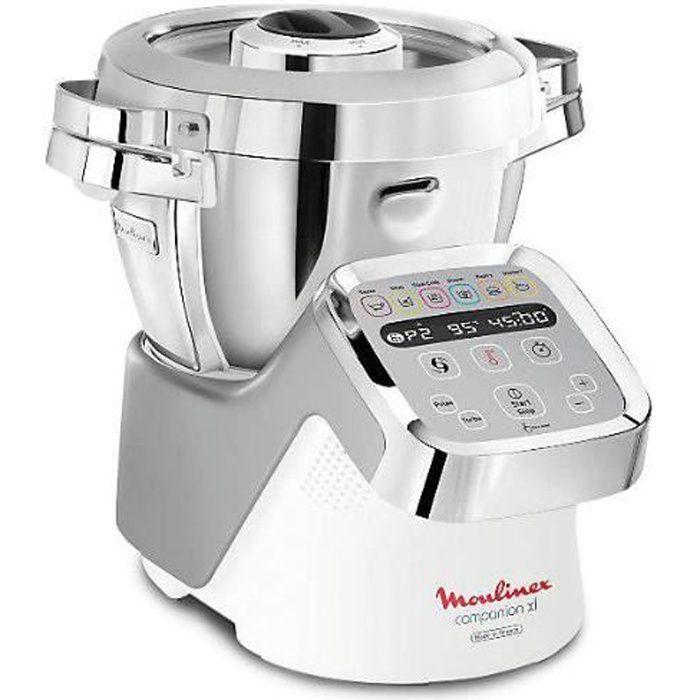 Robot cuiseur multifonction Moulinex Companion XL HF807E10 GRIS - 1550W