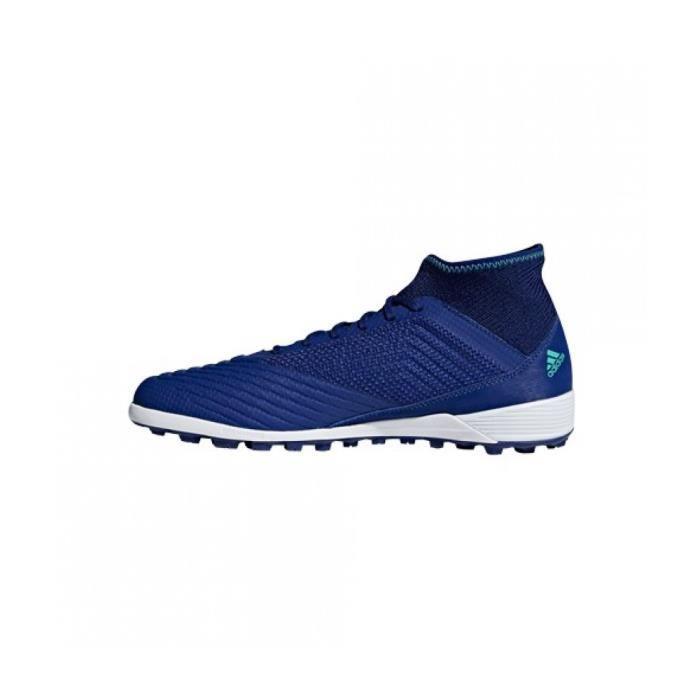 Chaussures de Futsal et de Foot a 5 bleues Predator Tango 18.3 TF adidas