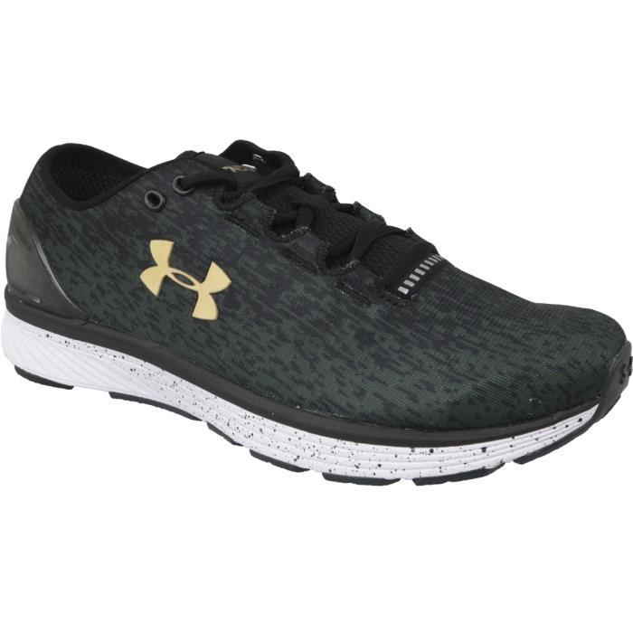 Under Armour W Charged Bandit 3 Ombre 3020120-001 chaussures de running pour femme Gris