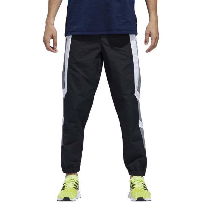 adidas EQT Homme pantalon de survêtement sport décontracté style color block - noir -