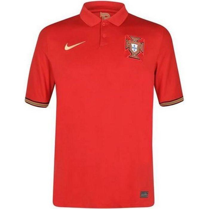 Nouveau Maillot Officiel de Football Homme Nike Portugal Domicile Euro 2020