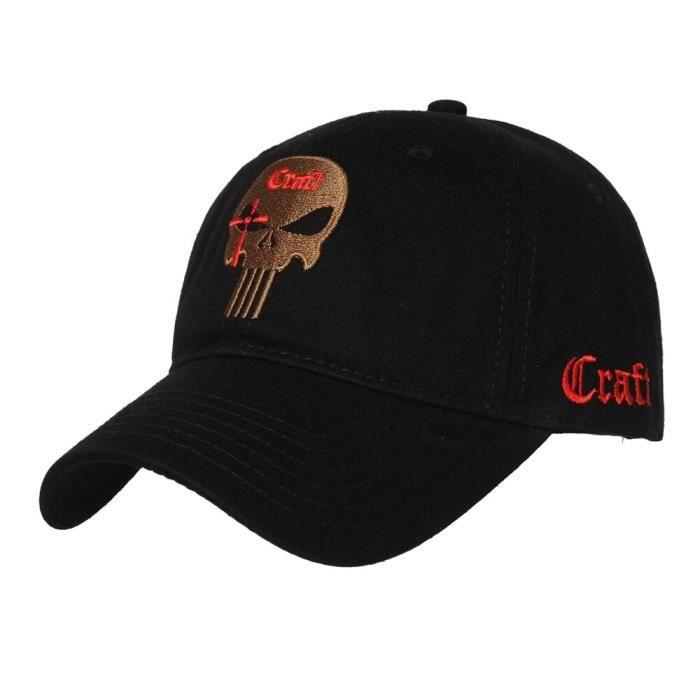 CASQUETTE,T.S.N.K Camouflage hommes femmes casquette de course chapeau américain punisseur sceau équipe - Type Sniper BK adult
