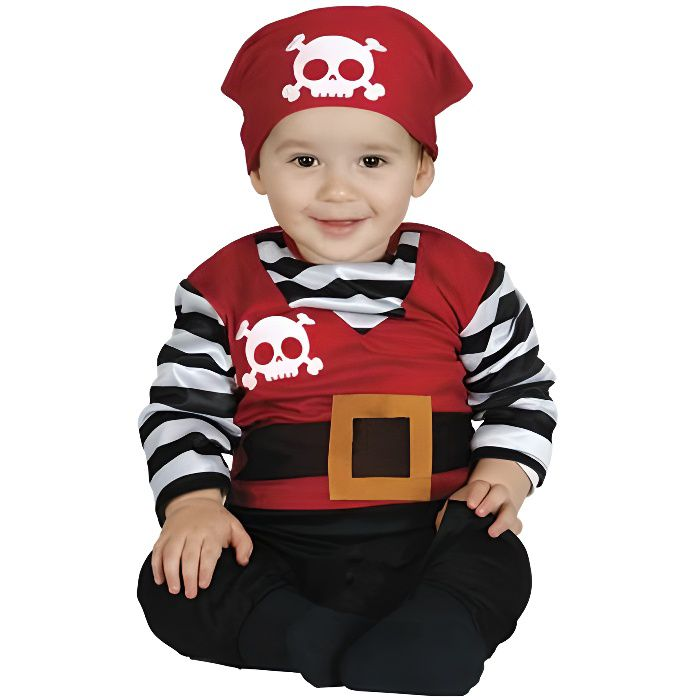 GUIRMA, S.A.. Déguisement Pirate Walter bébé. Mixte