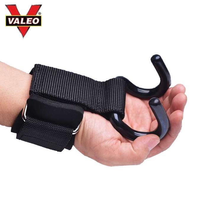 Bandes de Maintien entouré de poignet avec crochet sans dérapant protéger la paume de la main musculation fitness