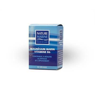 Magnésium B6 - MAGNÉSIUM + Vitamine B6 80 gélul…