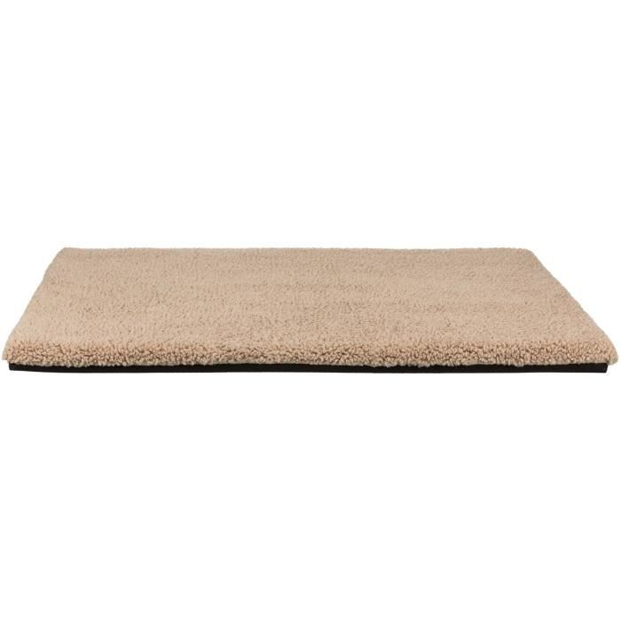 TRIXIE Tapis de couchage Bendson Vital - 120 x 85 cm - Beige - Pour chien