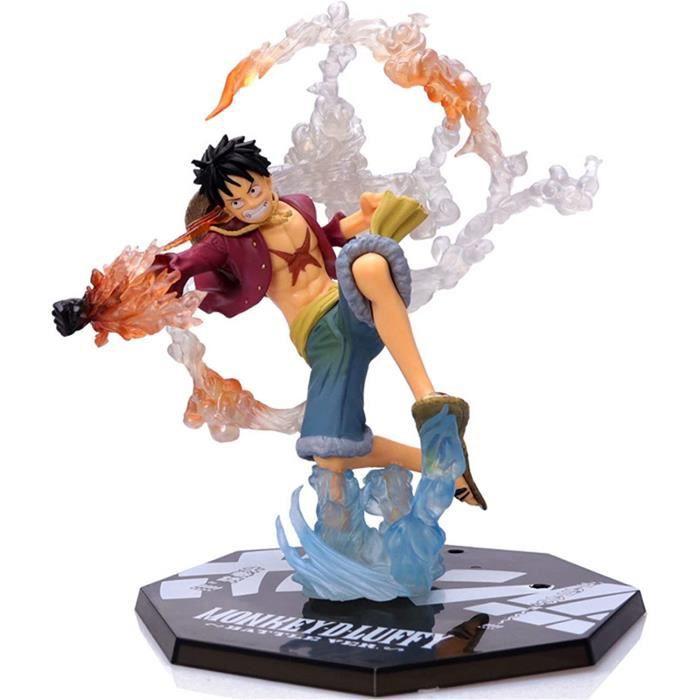 One Piece Luffy Figurine d'action Japonaise Classique Anime Personnage Ornement Touchant Anime Scène Modèle Jouet Poupée