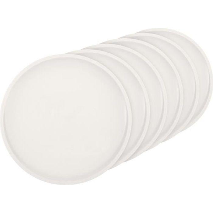 Villeroy & Boch Artesano Original Assiettes Plates 27 cm (10–4130–2620), Premium Assiettes 6, Convient 6 Personnes, Porcelaine, B