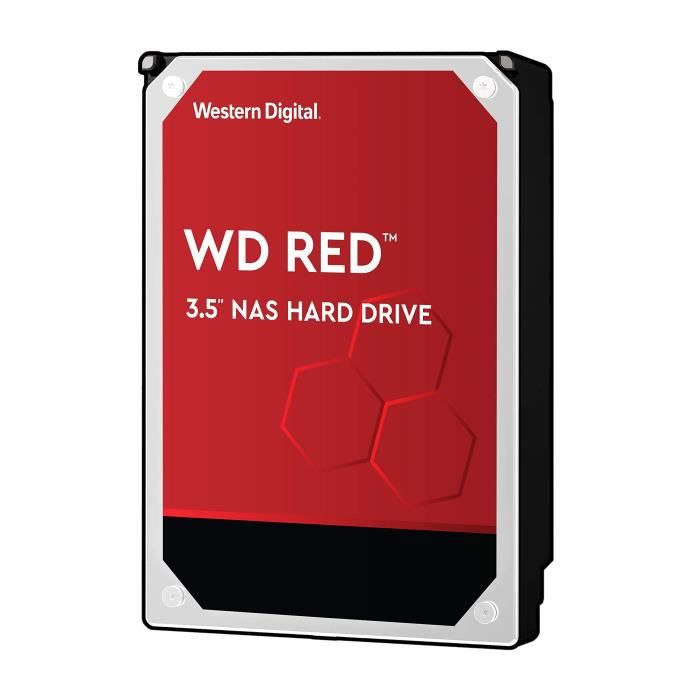 WD Red NAS WD20EFAX Disque Dur Interne 2 to 3,5- SATA 6 Go-s 5400 TR-Min Mémoire Tampon 256 Mo