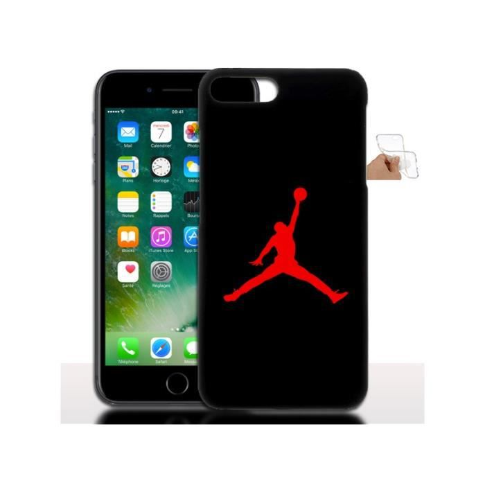 Housse gel jordan pour iphone 7 plus protection silicone for Housse protection iphone 7