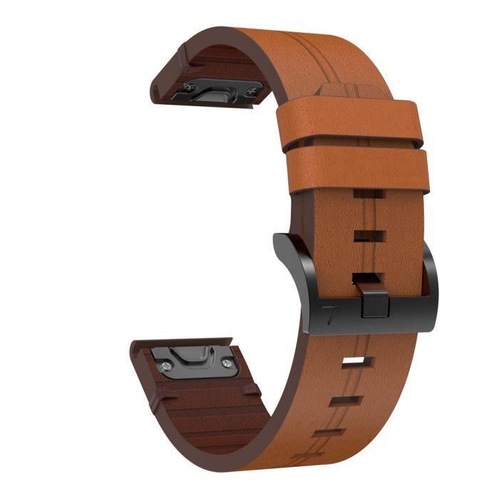 garmin bracelet cuir