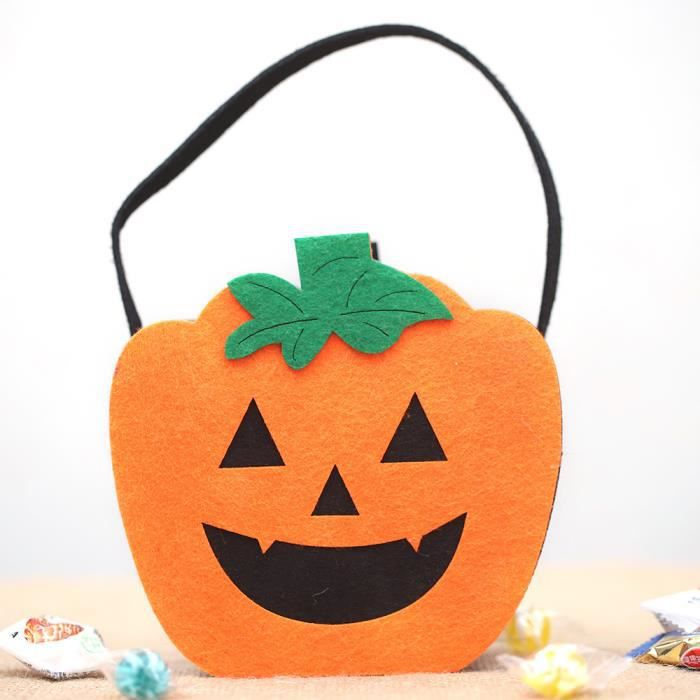 KIT DE DECORATION Halloween sorcières Sac mignon de bonbons Emballag