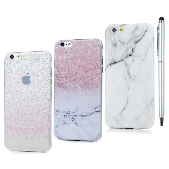 coque iphone 6 s silicone souple antichoc transpar
