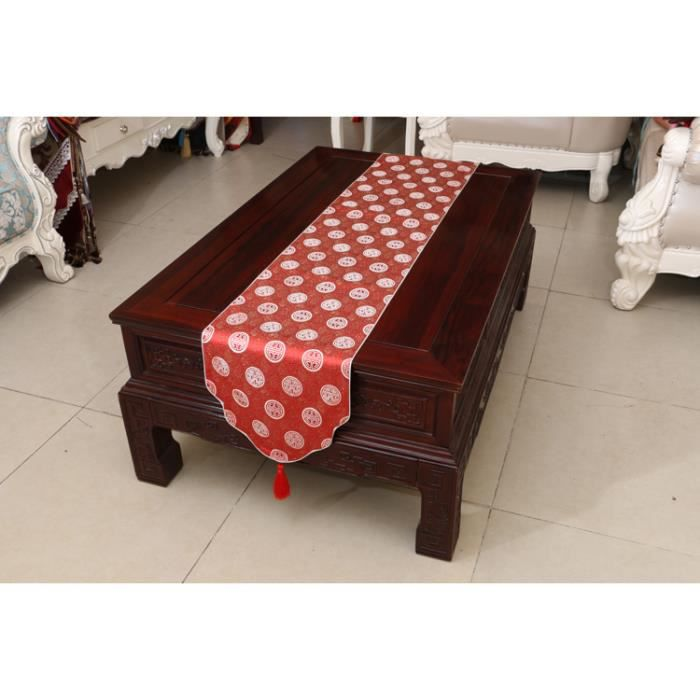 Chemin de table linge de table nappe soie qualit art table moderne d corations de no l Linge de table luxe