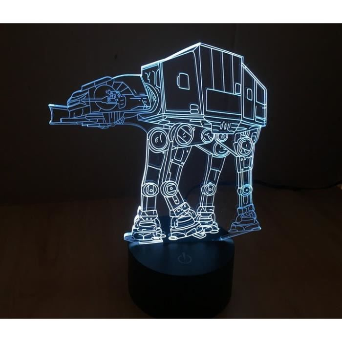stars wars lampe 3d achat vente pas cher. Black Bedroom Furniture Sets. Home Design Ideas