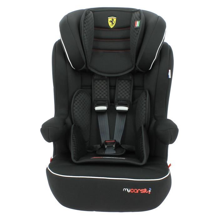 si ge auto isofix ferrari 9 36kg made in france 3 toiles test tcs protections lat rales cale. Black Bedroom Furniture Sets. Home Design Ideas