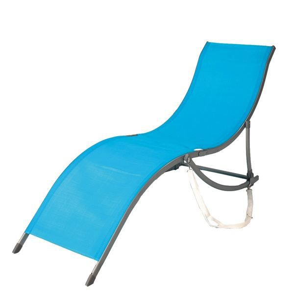 chaise longue transat lit de bain soleil design pliant azur pictures. Black Bedroom Furniture Sets. Home Design Ideas