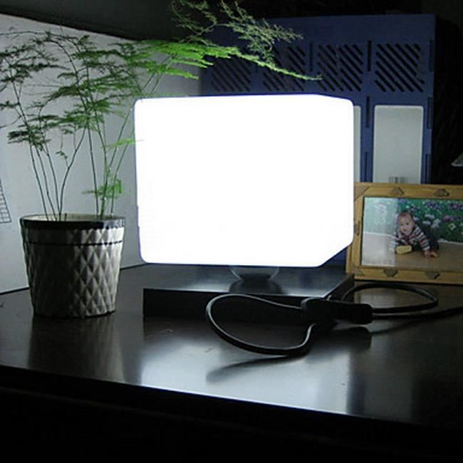 Lampe de table sous forme de cube tu achat vente lampe for 2 sous de table