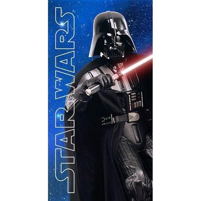 SERVIETTE DE PLAGE Drap de plage Microfibre Star Wars