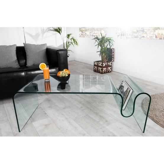 table basse verre rectangulaire achat vente table basse verre rectangulaire pas cher les. Black Bedroom Furniture Sets. Home Design Ideas