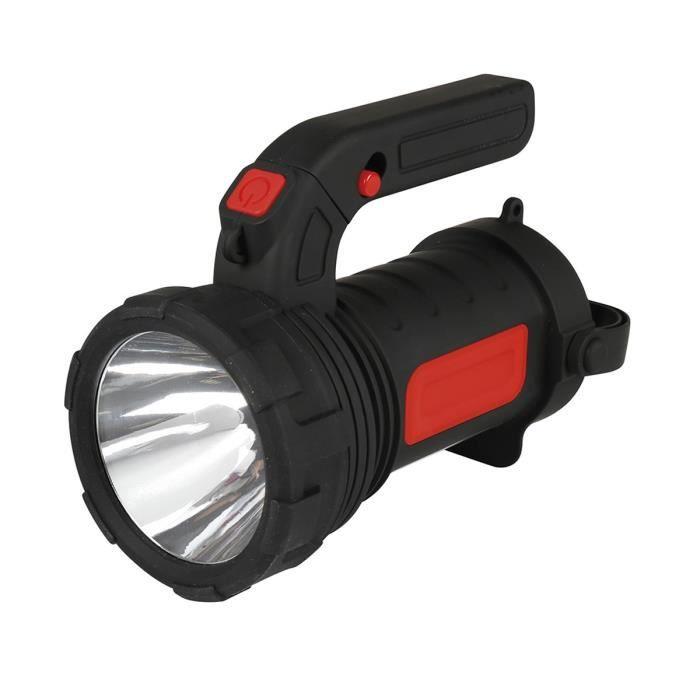 LAMPE DE POCHE EXPERT LINE Torche lanterne 2 en 1 3 W 12 LED SMD
